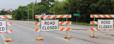 Buffalo Springs Drive bridge in Montgomery has been closed due to flood damage since May 2016.