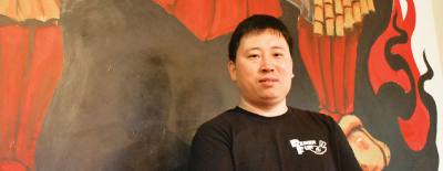 Jason Chen is one of six business partners who collaborated on opening Ramen Fun on FM 1960.