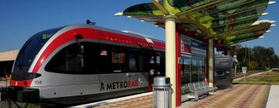 New MetroRail cars will be implemented in January to provide additional capacity.