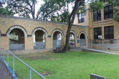 The building at 1212 Rio Grande St. was the site of Austin High School for 50 years before it became an Austin Community College campus. Now, ACC is renovating the inside while preserving its historic structure.