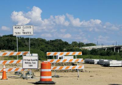 The FM 546 extension project is expected to be complete in October.