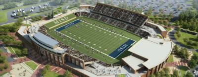 The McKinney ISD stadium and community event center is expected to be complete in 2018.