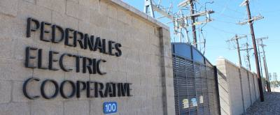 The Pedernales Electric Cooperative provides electricity to Hill Country residents.