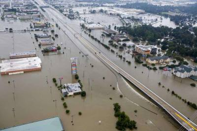 Residents from the Lake Houston area documented the historic flood waters following Hurricane Harvey.