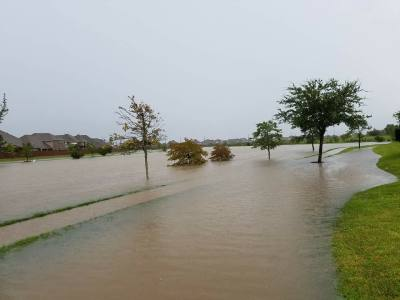 Hurricane Harvey brought historical flooding to Pearland and Friendswood, as documented by residents of the area.