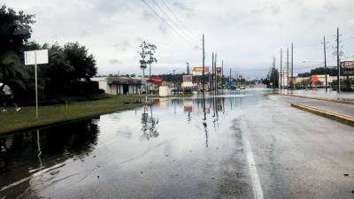 Many areas received several inches of rain over four days in from Aug. 26-29, causing street flooding on Rayford Road and other thoroughfares in the area.