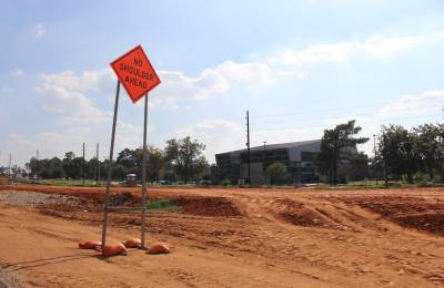 The tollway project runs adjacent to Lone Star College-Tomball.