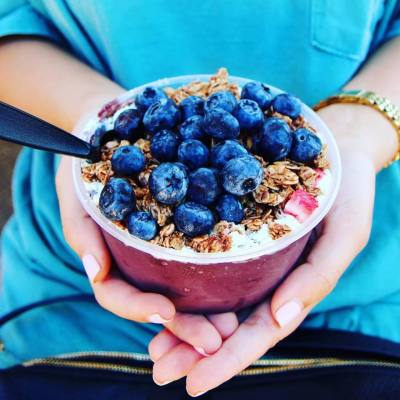 Acai Hut's first brick-and-mortar location is in the Mueller development.
