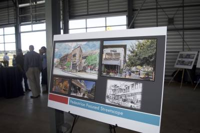 The city of Hutto broke ground Nov. 2 on mixed-use development The District Co-Op.