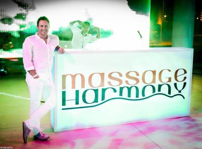 Massage Harmony is owned by Derrick Amoriko.