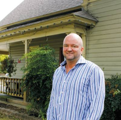 Greg Tierney owns Tierneyu2019s Cafe and Tavern in Old Town Lewisville.