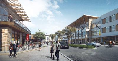 At the end of its build-out, The District will be Round Rocku2019s first mixed-usendevelopmentu2014featuring residential spaces, Class A offices, restaurants and retail.n