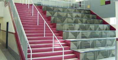 Magnolia ISDu2019s two new intermediate schools will each feature learning stairs.