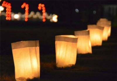 The annual Shenandoah Luminaries will be lit throughout the city on Christmas Eve. Dec. 24.