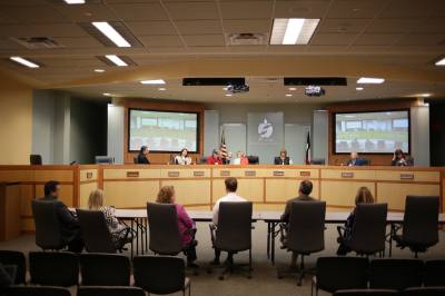 Plano ISD trustees convene to vote over the timeline and application document for a vacant trustee seat Dec. 7.
