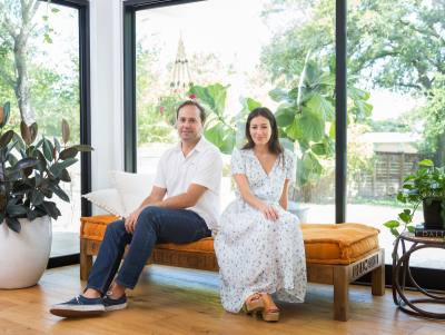 Andy Means and Jessie Katz are the husband-and-wife team behind new Windsor Village restaurant Hank's.