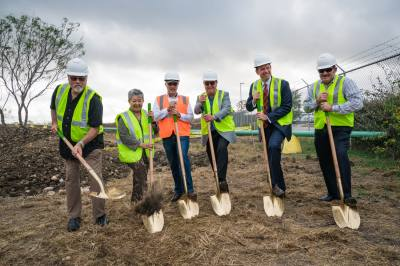 AMP Americas broke ground on its 20th gas station in Buda on Dec. 4.