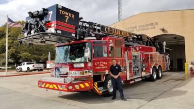 The Cy-Fair Volunteer Fire Department is looking for volunteers.