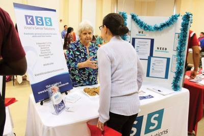 The Frisco Chamber of Commerceu2019s Senior Service Alliance hosted its first senior job and volunteer fair this year.