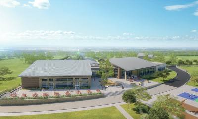 The Grove at Frisco Commons will be a 30,000-square-foot facility set among a grove of trees just east of Frisco Commons community park.