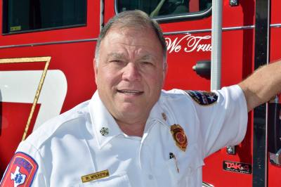 Fire Chief Russell Rusty Wilson