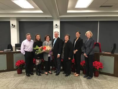 Capital Metro board members said goodbye to President/CEO Linda Watson at her final board meeting Dec. 18. Watson announced her retirement July 31.