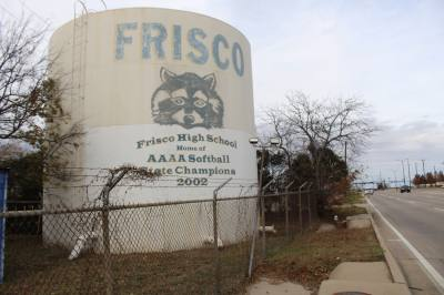 The water storage tank on Preston Road and Gary Burns Drive will be demolished.