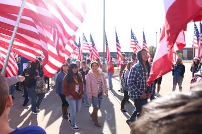 The Walk of Gratitude 2016 honored families of fallen military members.