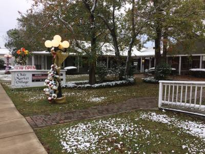 Snow fell in Tomball and Magnolia on Thursday night and Friday morning, Dec. 7-8.