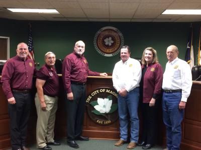 Magnolia City Council met Tuesday, Dec. 12.