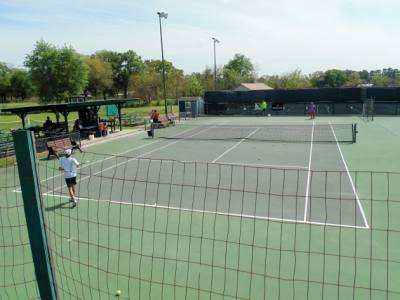 Flower Mound Town Council is considering locations for a tennis center.