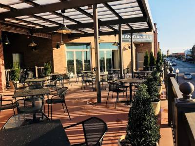 San Daniele will offer a rooftop terrace area when it fully opens in the coming weeks.