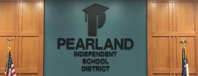 The Pearland ISD board of trustees meets once per month.