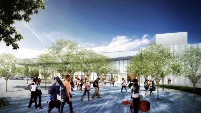 Plano ISD's Fine Arts Center is expected to open in August 2020.