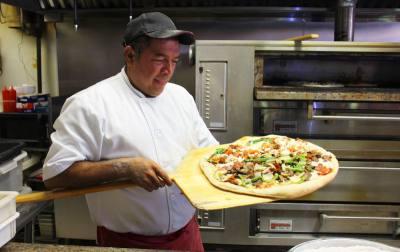 Owner Antonio Portillo opened the Louetta Road location for his pizza restaurant in 2009.
