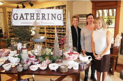 (From left) Daughters Paula and Kelly run the boutique with help from mother Margaret McGettrick.