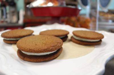 Sweet Revenge Bake Shoppe recently added a Ginger-Lemon Cookie to its menu for the holiday season.
