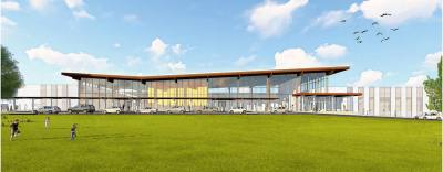 The new San Marcos CISD elementary school will be located at the new Trace development off Posey Road.