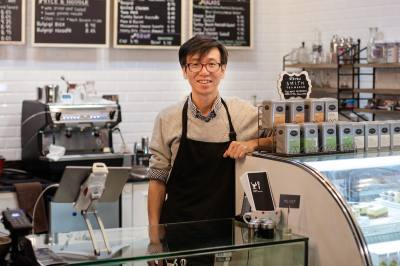 Jay Kim is the new owners of Village Cafe and Bakery in Colleyville.