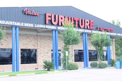 Value Furniture-Pearland is reopening after closing due to damage caused by Hurricane Harvey.