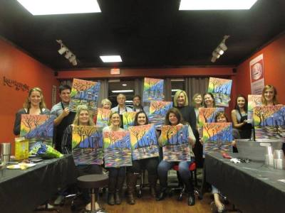 Art Bar Paint Studio opened in December on Louetta Road.