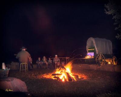 The George Ranch Historical Park will host a Campfire Christmas event Saturday, Dec. 9.