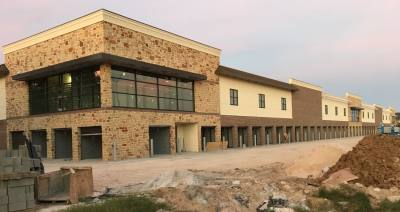 A CubeSmart facility is being built in Katy along Westpark Tollway.