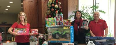 Toys for Tots collections continue throughout mid-December at several local businesses, including many area First Choice ER locations.