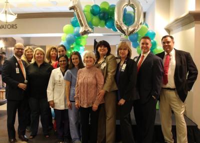 Cedar Park Regional Medical Center celebrated its 10th anniversary on Dec. 4.
