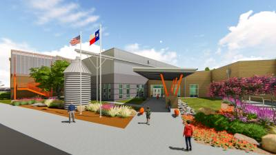 A rendering of Hutto ISD Elementary School No. 7