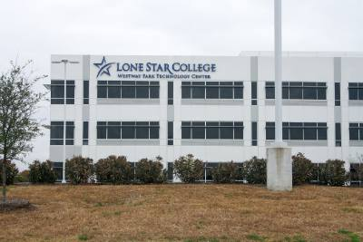 The Lone Star College-Westway Park Technology Center will open this fall on Westway Park Boulevard.