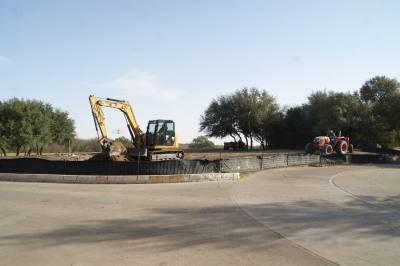 Renovations to the golf course are in full swing at Forest Creek Golf Club.