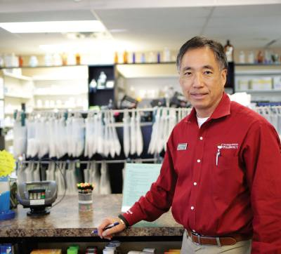 Dennis Song has owned and operated Flower Mound Pharmacy for 20 years.