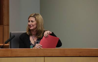 Jeri Chambers assumes the role as the newest trustee for the Plano ISD board of trustees.
